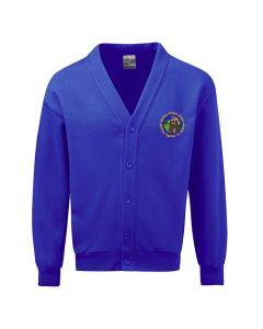 Bardsey Embroidered Fleece Cardigan