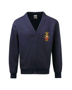 Burneston C.E. School Embroidered Fleece Cardigan