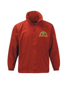 Deighton Gates embroidered shower proof fleece jacket