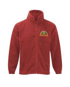 Deighton Gates embroidered fleece jacket