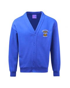 Dimplewell Infant School Embroidered Fleece Cardigan