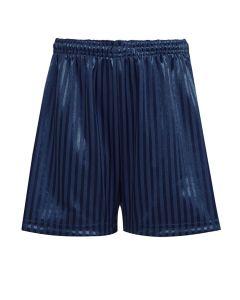 Navy PE Shadow Stripe Shorts