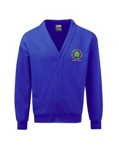 Forest Of Galtres School Embroidered Fleece Cardigan