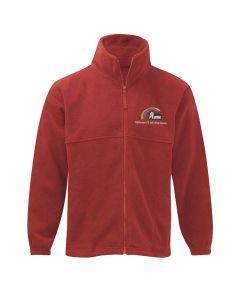 Highburton embroidered fleece jacket
