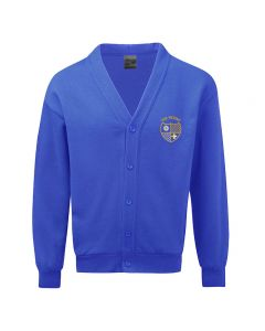 The Mount Junior and Infant School Embroidered Fleece Cardigan