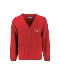 North Duffield C P School Embroidered Cardigan