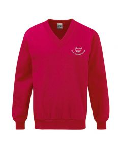 North Duffield C P School Embroidered APC V Neck Sweatshirt
