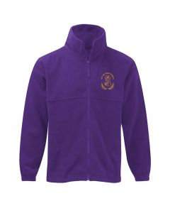 Our Lady Queen of Martyrs fleece jacket