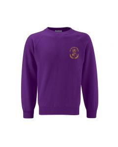 Our Lady Queen of Martyrs Embroidered Sweatshirt