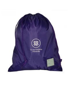 Co-op Academy Princeville Embroidered PE Bag