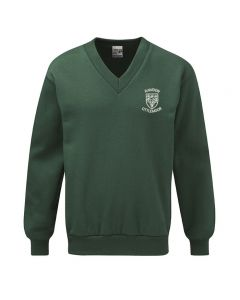 Rawdon Littlemoor School Embroidered V Neck Sweatshirt