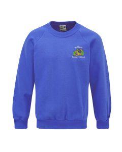 Rufforth Primary School Electric Blue Crew Top