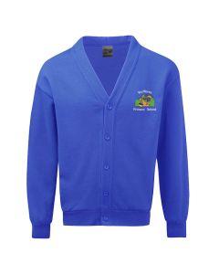 Rufforth Primary School Electric Blue Sweatshirt Cardigan