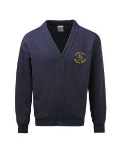 Saxton C E Primary School Embroidered Fleece Cardigan