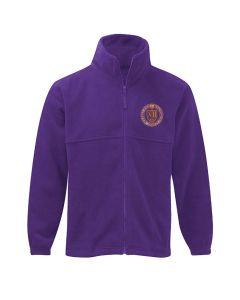 Soaring High Montessori School Embroidered Fleece Jacket