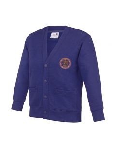 Soaring High Montessori School Embroidered Cardigan