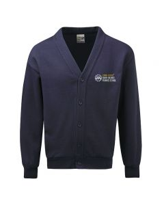 South Milford Embroidered Fleece Cardigan