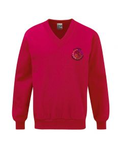 St Josephs Catholic Primary School Embroidered V Neck Sweatshirt