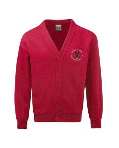 St Marys School Embroidered Fleece Cardigan