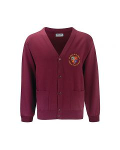 St Marys & St Peters Primary School Embroidered Cardigan