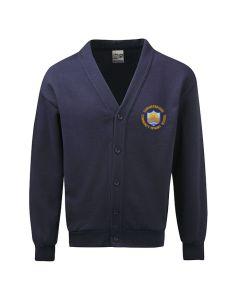 Summerbridge C P School Embroidered Fleece Cardigan