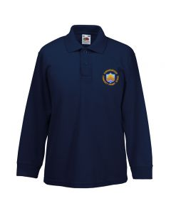 Summerbridge C P School Embroidered Long Sleeve Polo Shirt