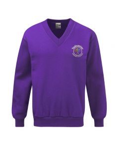 Tadcaster Primary Academy Embroidered V Neck Sweatshirt