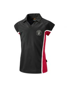 Wetherby High School Girls Collared V-Neck Polo