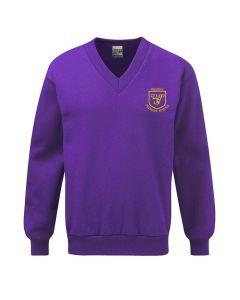 Wibsey Primary School Embroidered V Neck Sweatshirt